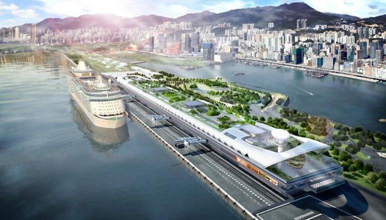 Kai Tak Cruise Terminal เปลี่ยนโฉมสนามบินเก่าให้กลายเป็นท่าเรืออันงดงามบนเกาะฮ่องกง 13 - airport