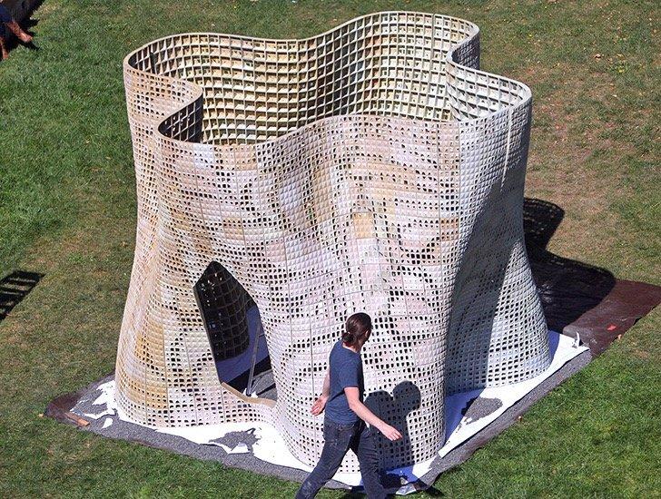 บ้านแห่งอนาคต สร้างด้วยเทคโนโลยีการพิมพ์ 3 มิติ 20 - 3D