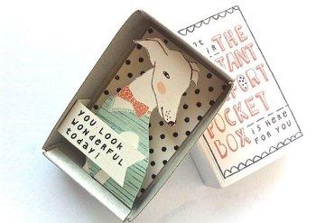 ไอเดียกล่องส่งสารจากใจ ทำจากกล่องไม้ขีดเล็กๆ..มอบความสุขให้ผู้รับ 15 - card
