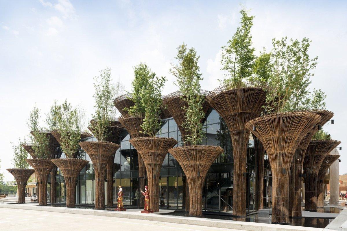 สร้างเมืองให้เหมือนป่า เพิ่มพลังชีวิตให้เมือง Vietnam Pavilion – Milan'15 25 -