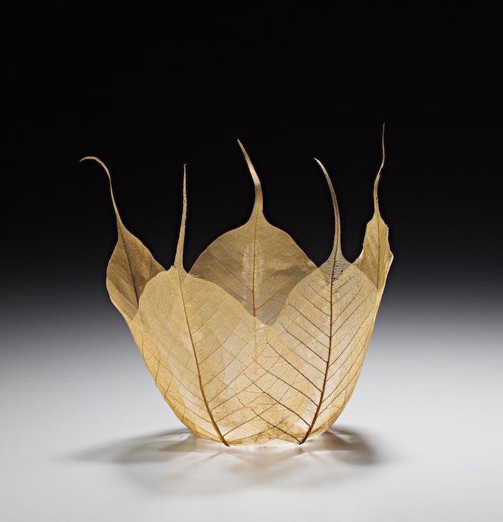 """ดีไซน์งดงามไร้กาลเวลา """"ชามใบไม้"""" สุดยอดไอเดียออกแบบโดย Kay Sekimachi 15 - Japan"""