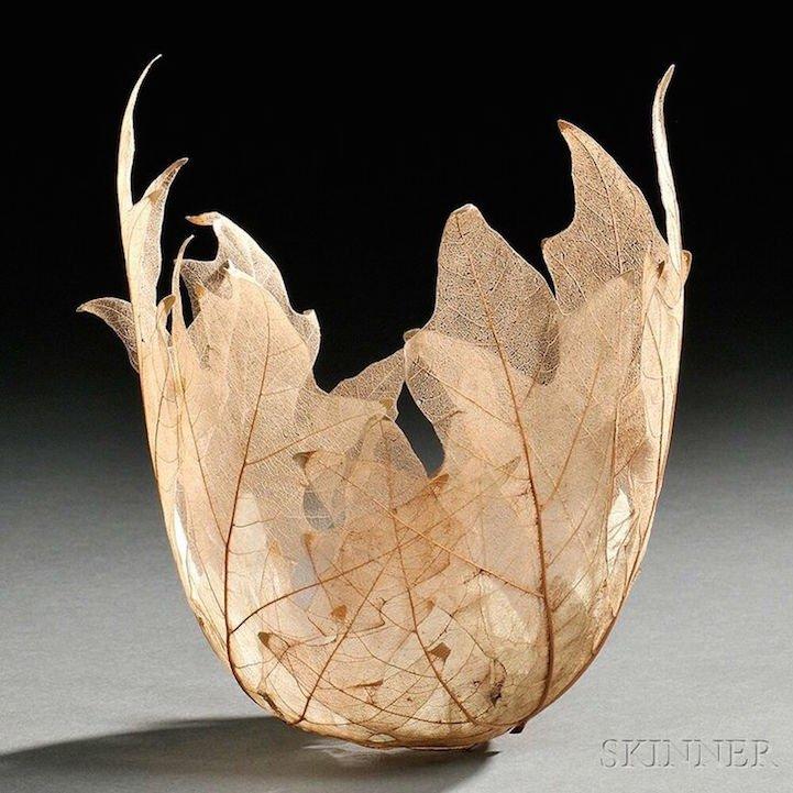 """ดีไซน์งดงามไร้กาลเวลา """"ชามใบไม้"""" สุดยอดไอเดียออกแบบโดย Kay Sekimachi 16 - Japan"""
