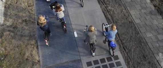 อนาคตเลนจักรยานอยู่ร่วมกับถนน..ใช้ผลิตพลังงาน ศึกษาแล้วคุ้มกว่าที่คาด 13 - green energy