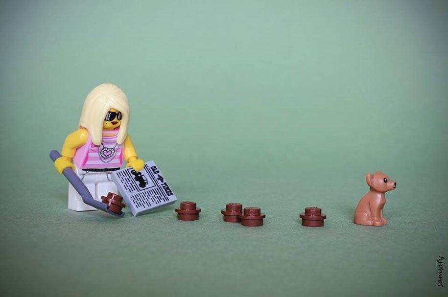 หวนคืนสู่โลกจินตนาการแบบเด็กๆ กับการถ่ายภาพ Lego 15 - Lego