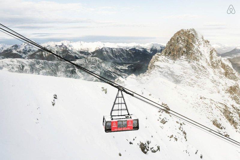 designrulz airbnb French Alps Ski Resort กระเช้าลอยฟ้ารีสอร์ท