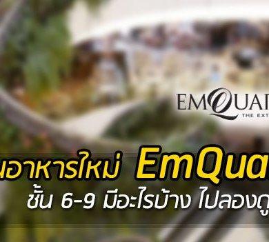 ร้านอาหาร EmQuartier มีอะไรใหม่ รูปภาพโซนอาหารเปิดใหม่ ชั้น 6-9 ที่ เอ็มควอเทียร์ 14 - chinese restaurant