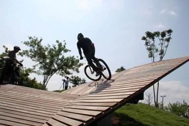 พื้นที่สำหรับนักปั่นจักรยานที่สนุก ผจญภัยและปลอดภัย Peppermint Bike Community 26 - HEALTH
