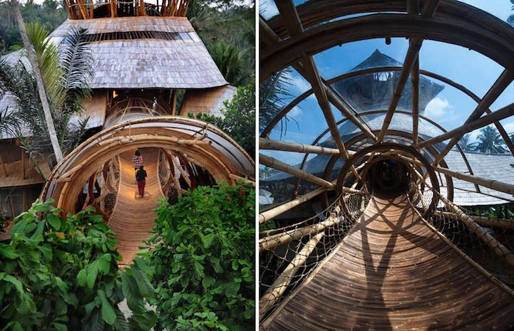 แนวคิดส่งเสริมบ้านไม้ไผ่ที่บาหลี.. ยั่งยืน สวยงาม และทนทานต่อแผ่นดินไหว 9 - bali