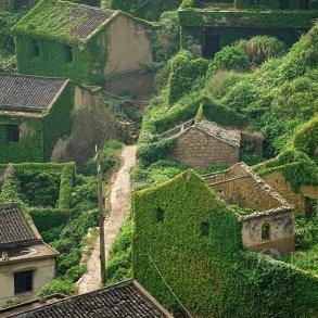 หมู่บ้านชาวประมงในจีน ที่ถูกธรรมชาติยึดพื้นที่คืน 20 - abandon village