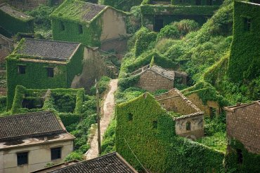 หมู่บ้านชาวประมงในจีน ที่ถูกธรรมชาติยึดพื้นที่คืน 25 - photography