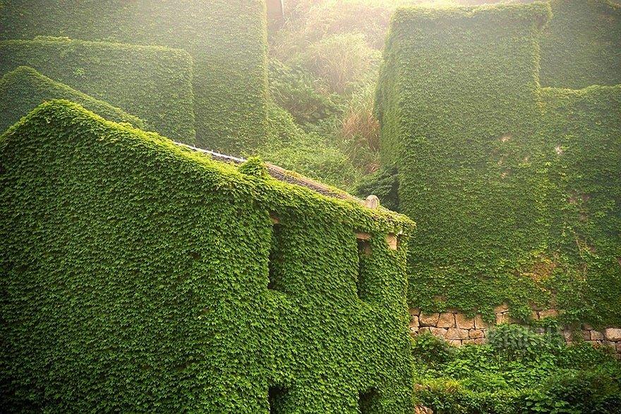 หมู่บ้านชาวประมงในจีน ที่ถูกธรรมชาติยึดพื้นที่คืน 17 - abandon village