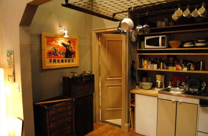 """แบบบ้านสุดเล็กแต่ใช้พื้นที่สุดคุ้มเพียง14 ตรม. จากซีรีย์ """"Girl"""" ทาง HBO 19 - Apartment"""