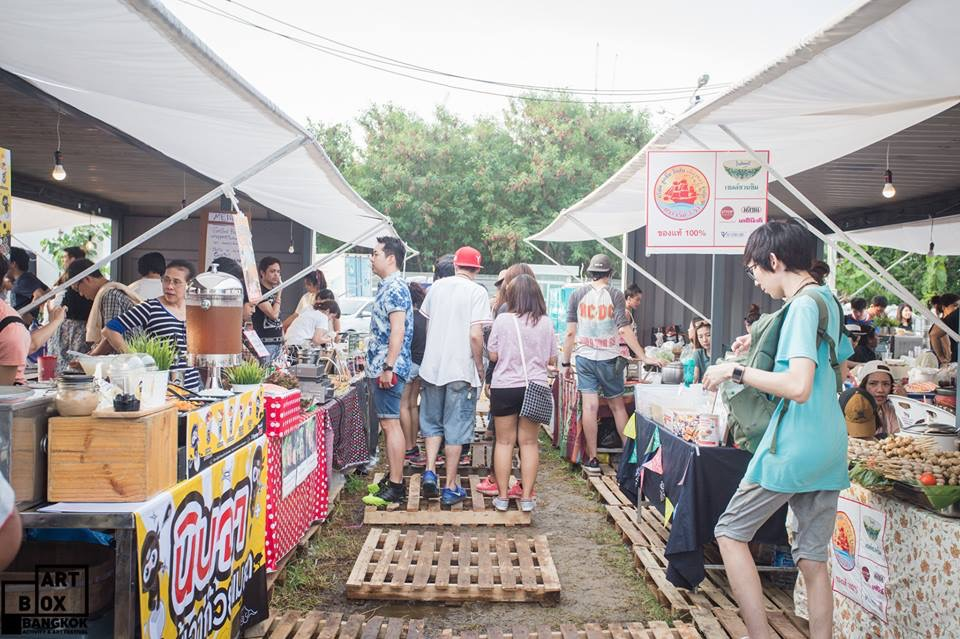 "ARTBOX Bangkokตลาดนัดรูปแบบใหม่ ""Exhibition Market"" @ Airport Link มักกะสัน 17 - 100 Share+"