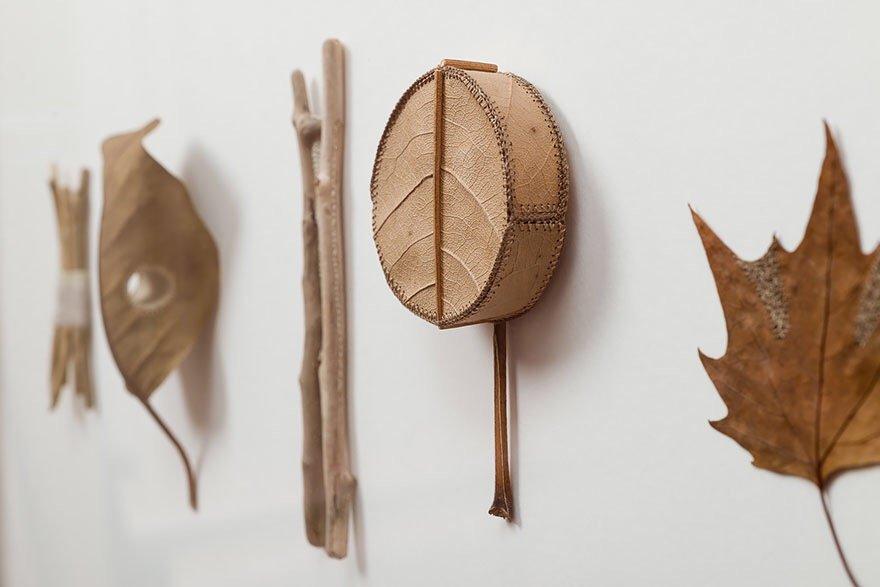 ศิลปะการถักทอ บนใบไม้.. สมดุลระหว่างความบอบบาง และแข็งแกร่ง 26 - Art & Design