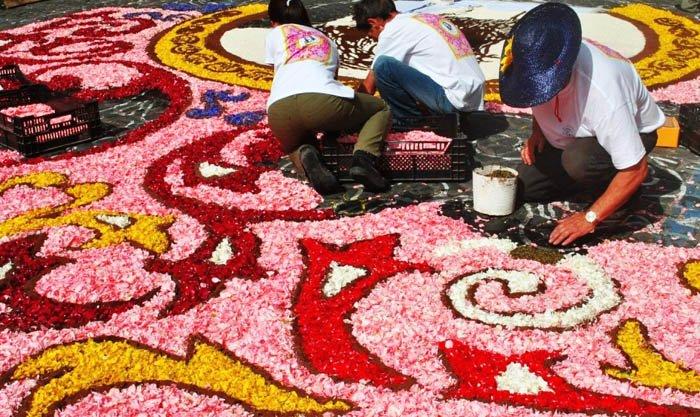 Genzanodi Roma Flower Festival เทศกาลปูพรมดอกไม้ทั่วถนนย่านเมืองเก่าแก่ 13 - Art & Design