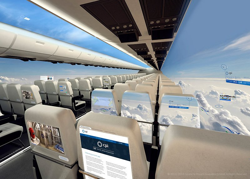 CPI Aerospace - Windowless Fuselage Concept 02