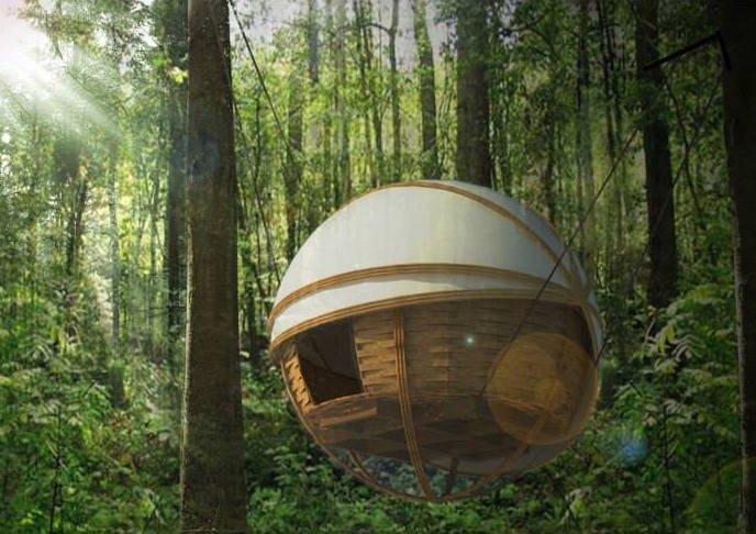 ที่พัก กลมกลืนกับผืนป่าในเขตอนุรักษ์ความหลากหลายทางชีวภาพในลาว 13 - bamboo