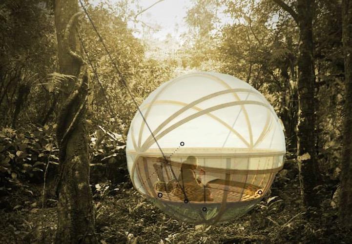 ที่พัก กลมกลืนกับผืนป่าในเขตอนุรักษ์ความหลากหลายทางชีวภาพในลาว 15 - bamboo