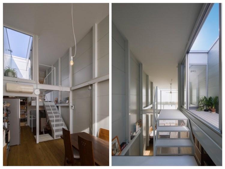 บ้านที่เกิดจากพื้นที่ระหว่างอาคาร กว้างเพียง 3.4 เมตร 9 - Japan