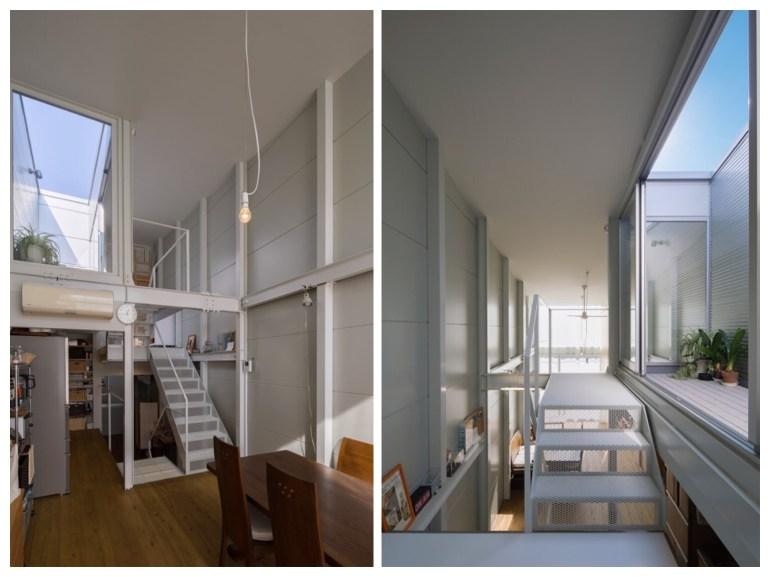บ้านที่เกิดจากพื้นที่ระหว่างอาคาร กว้างเพียง 3.4 เมตร 20 - Japan