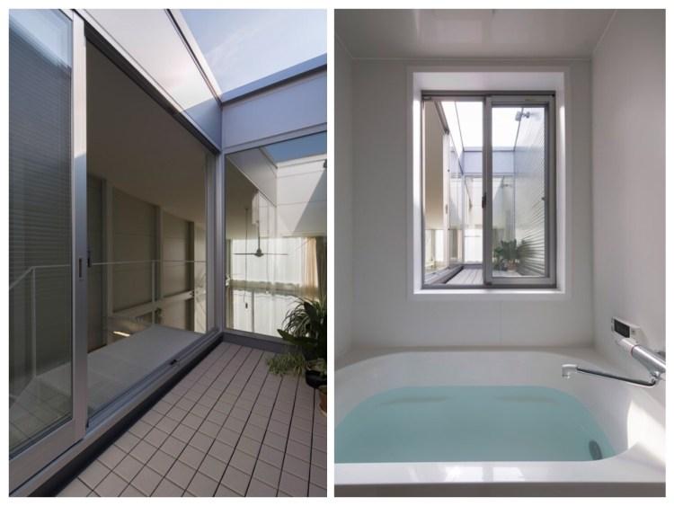 บ้านที่เกิดจากพื้นที่ระหว่างอาคาร กว้างเพียง 3.4 เมตร 12 - Japan