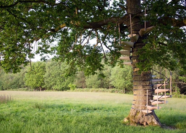 CanopyStair..ปีนบันไดขึ้นต้นไม้.. 14 - Royal College of Art