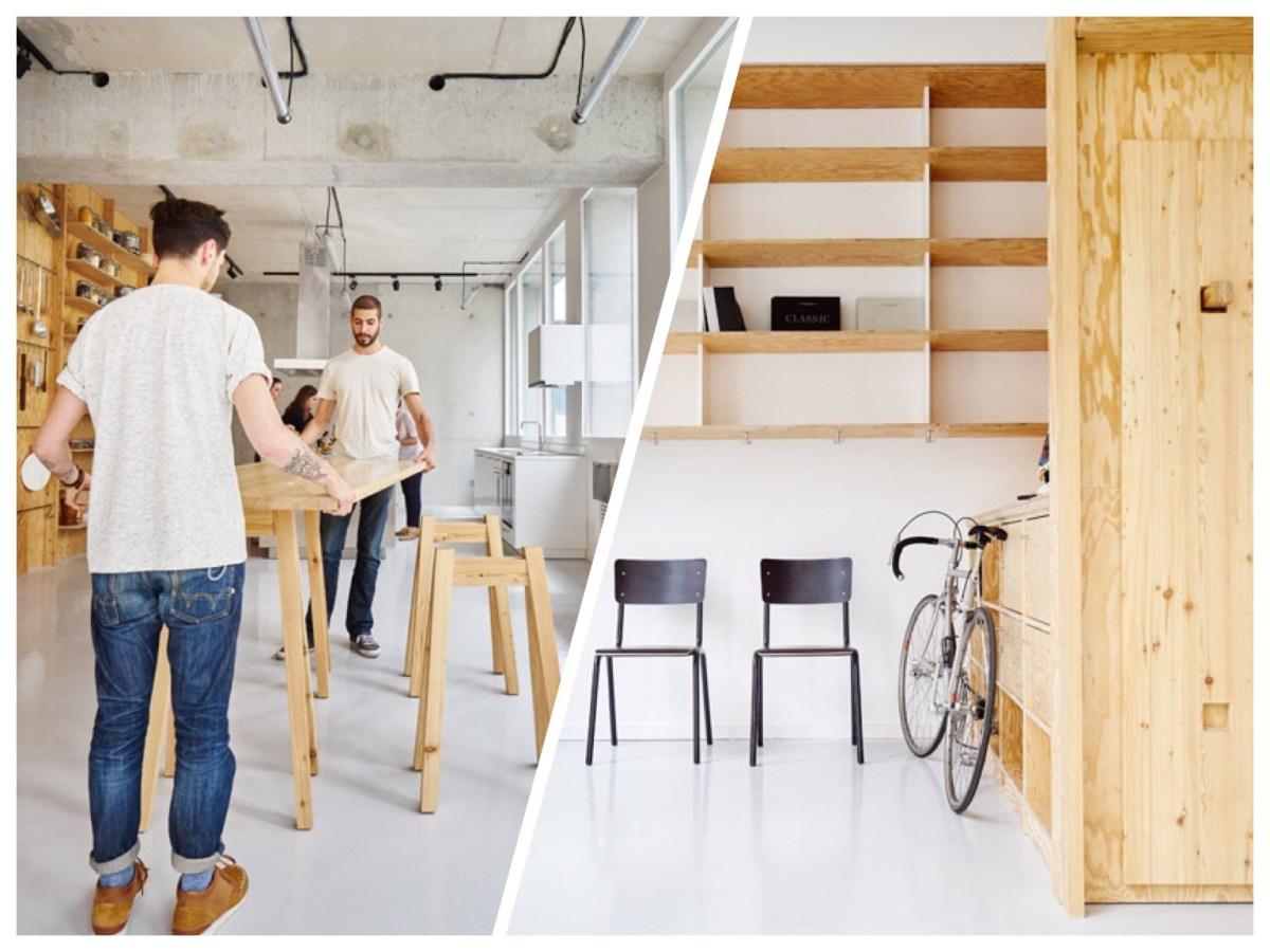 เก็บทุกอย่างไว้ที่ผนัง เพื่อให้มีความยืดหยุ่นในการใช้พื้นที่ได้ตามต้องการ 28 - Art & Design