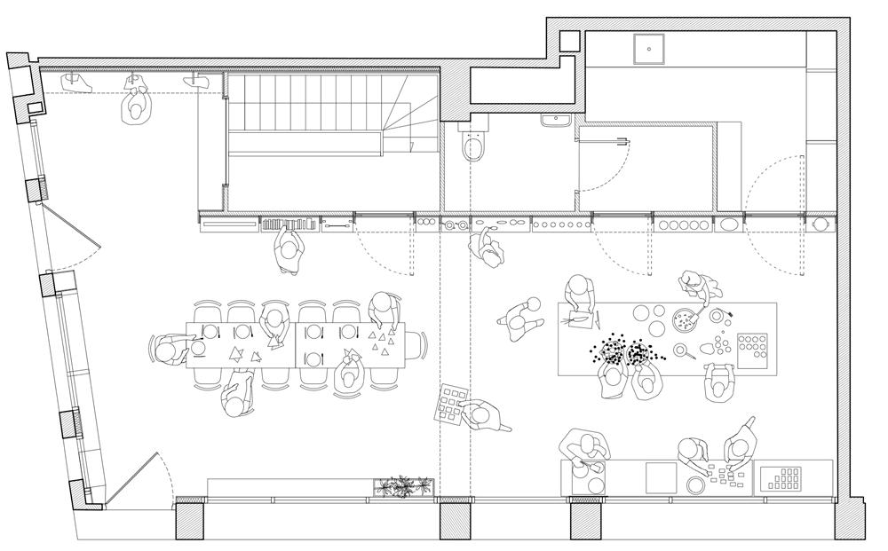 เก็บทุกอย่างไว้ที่ผนัง เพื่อให้มีความยืดหยุ่นในการใช้พื้นที่ได้ตามต้องการ 29 - Art & Design
