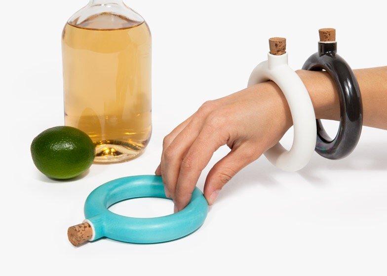 ขวดใส่เครื่องดื่ม.. แล้วใส่เป็นกำไลข้อมือ.. 14 - ceramic