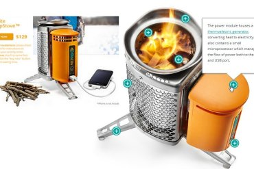 Biolite Home Stove เตาทำอาหาร แปรความร้อนจากเศษไม้ เป็นกระแสไฟฟ้า 21 - technology