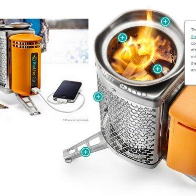 Biolite Home Stove เตาทำอาหาร แปรความร้อนจากเศษไม้ เป็นกระแสไฟฟ้า 14 - BioLite