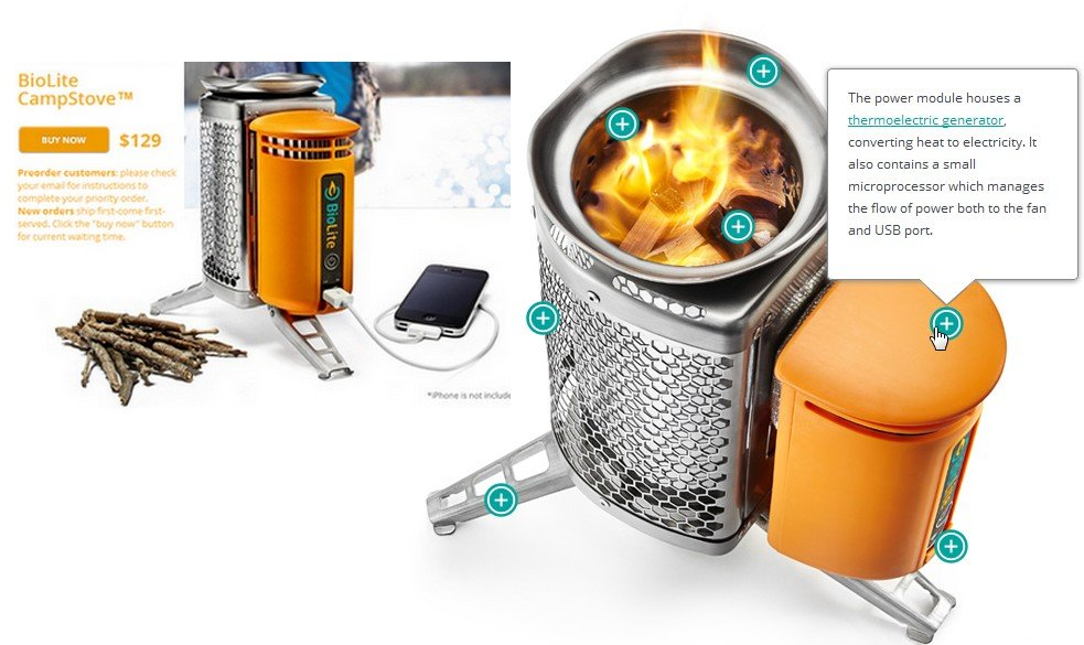 Biolite Home Stove เตาทำอาหาร แปรความร้อนจากเศษไม้ เป็นกระแสไฟฟ้า 13 - BioLite