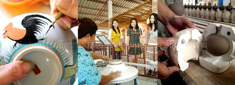 18 พิพิธภัณฑ์เซรามิคธนบดี เรื่องเล่าขาน ผู้บุกเบิกเซรามิกเมืองลำปาง