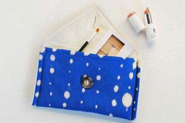 DIY กระเป๋าถือสุดน่ารัก วาดลายด้วยน้ำยาฟอกขาว 13 - clutch