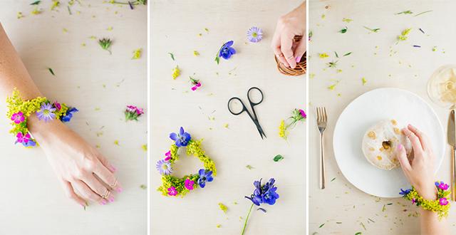 DIY : กำไลดอกไม้ 27 - Gift