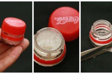 DIY : ตลับลิปบาล์มจากขวดโค้ก 22 - 1000 Share+