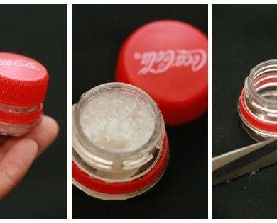 DIY : ตลับลิปบาล์มจากขวดโค้ก 28 - 100 Share+
