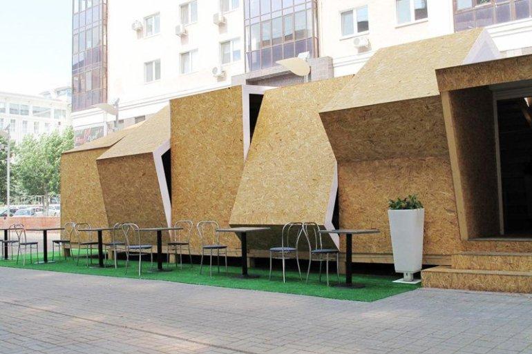 Summer Cafe คาเฟ่ชั่วคราวในฤดูร้อน ที่ประเทศรัสเซีย 21 - Green
