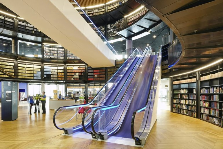 Library of Birmingham ห้องสมุดที่ใหญ่ที่สุดในยุโรป 16 - University
