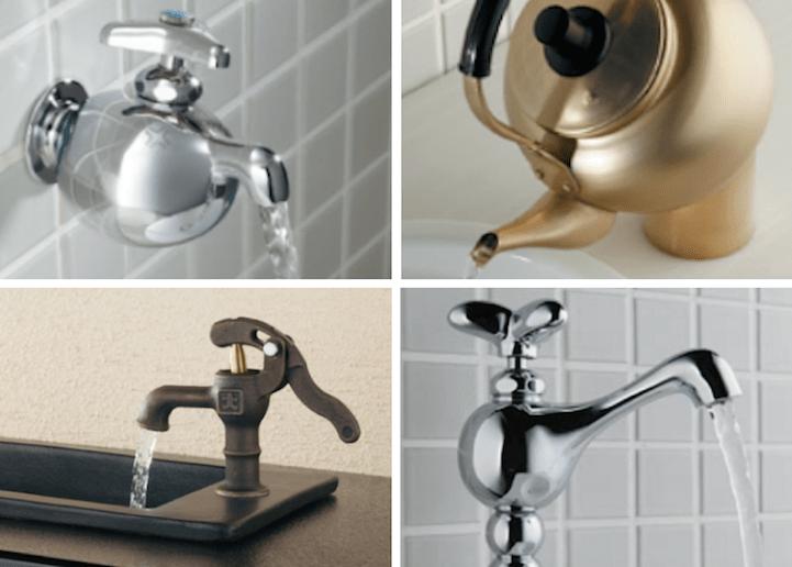 ก๊อกน้ำ ของโอซาก้า..เต็มไปด้วยความคิดสร้างสรรค์และอารมณ์ขัน 13 - faucet
