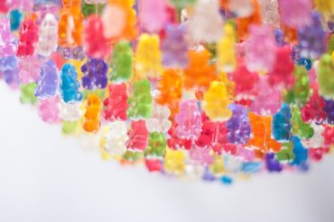 Gummy Bear Chandelier โคมระย้าจากขนมเจลลี่หมี 14 - Product