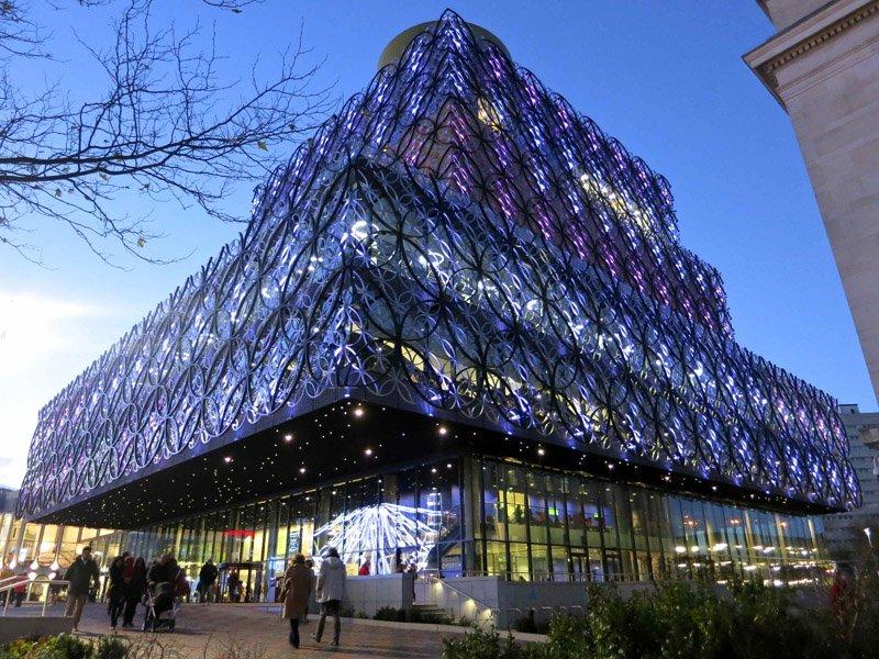 img 0984 Library of Birmingham ห้องสมุดที่ใหญ่ที่สุดในยุโรป