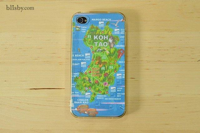 DIY : เคสโทรศัพท์ลายแผนที่ ต่อไปนี้ไม่มีหลงทาง 13 - iPhone