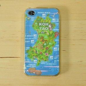 DIY : เคสโทรศัพท์ลายแผนที่ ต่อไปนี้ไม่มีหลงทาง 19 - iPhone