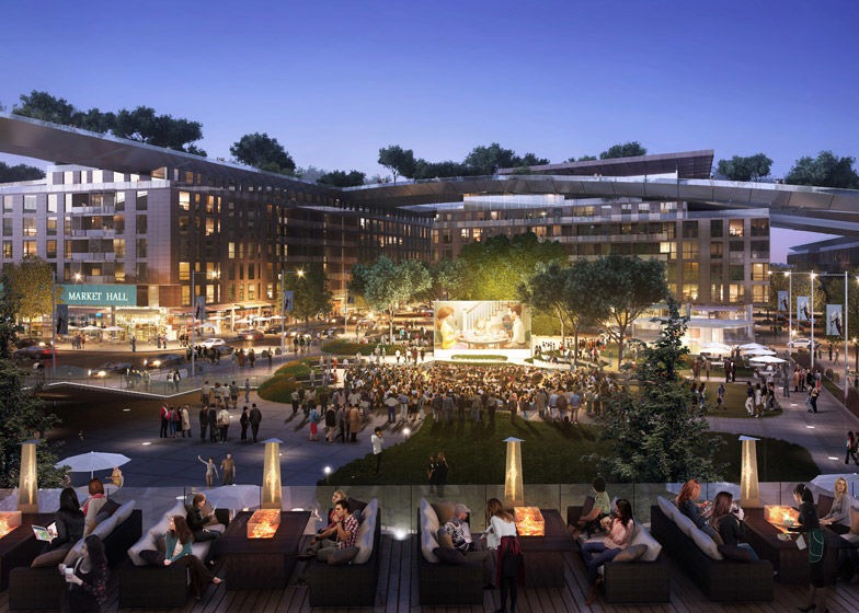 เปลี่ยนหลังคาห้างเก่าเป็นพื้นที่สีเขียวที่ใหญ่ที่สุดในโลกที่ Silicon Valley 16 - Garden
