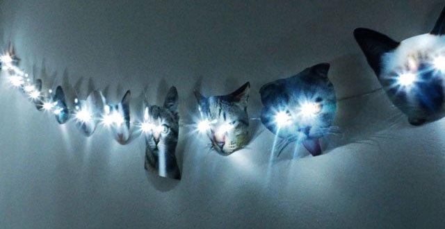 DIY: ไฟราวหน้าแมวเหมียว 13 - แมว