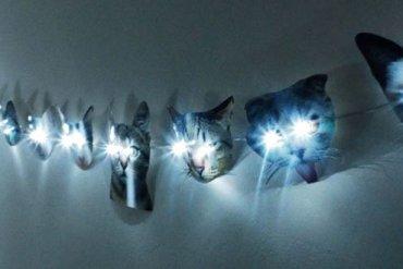 DIY: ไฟราวหน้าแมวเหมียว 23 - DIY