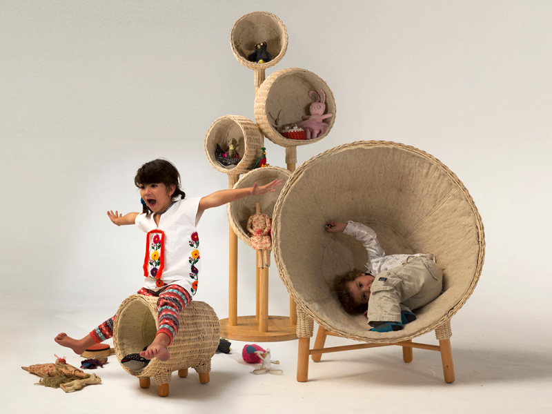 TRAVEN Christian Vivanco Nido Muebles 1 เฟอร์นิเจอร์สำหรับเด็ก เป็นทั้งของเล่น และสร้างความทรงจำอันแสนสนุก
