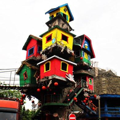 """""""The Most Amazing Tree House"""" บ้านต้นไม้แรงบันดาลใจจากภูมิปัญญาชนเผ่าพื้นถิ่น 28 - Architecture"""