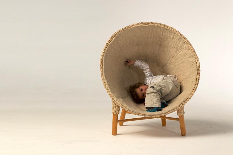 domus vivanco Luna Pod 02 เฟอร์นิเจอร์สำหรับเด็ก เป็นทั้งของเล่น และสร้างความทรงจำอันแสนสนุก